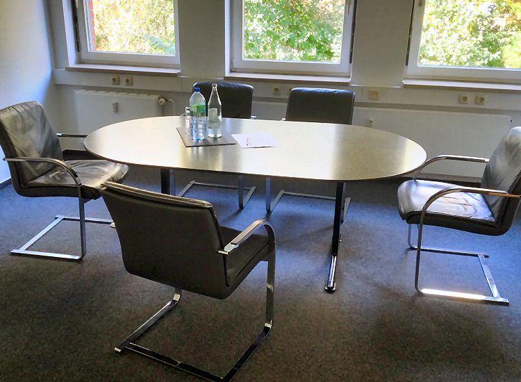 Rechtsanwalt Frank Poillon Wentorf Südring 22 Gebäude Praxis Kanzlei Anfahrt Konferenzraum Konferenz Besprechungsraum